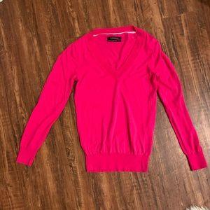 Hot pink club Monaco sweater. Size S